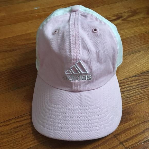 adidas Accessories - Vintage baby pink Adidas baseball cap 6d707c31c03